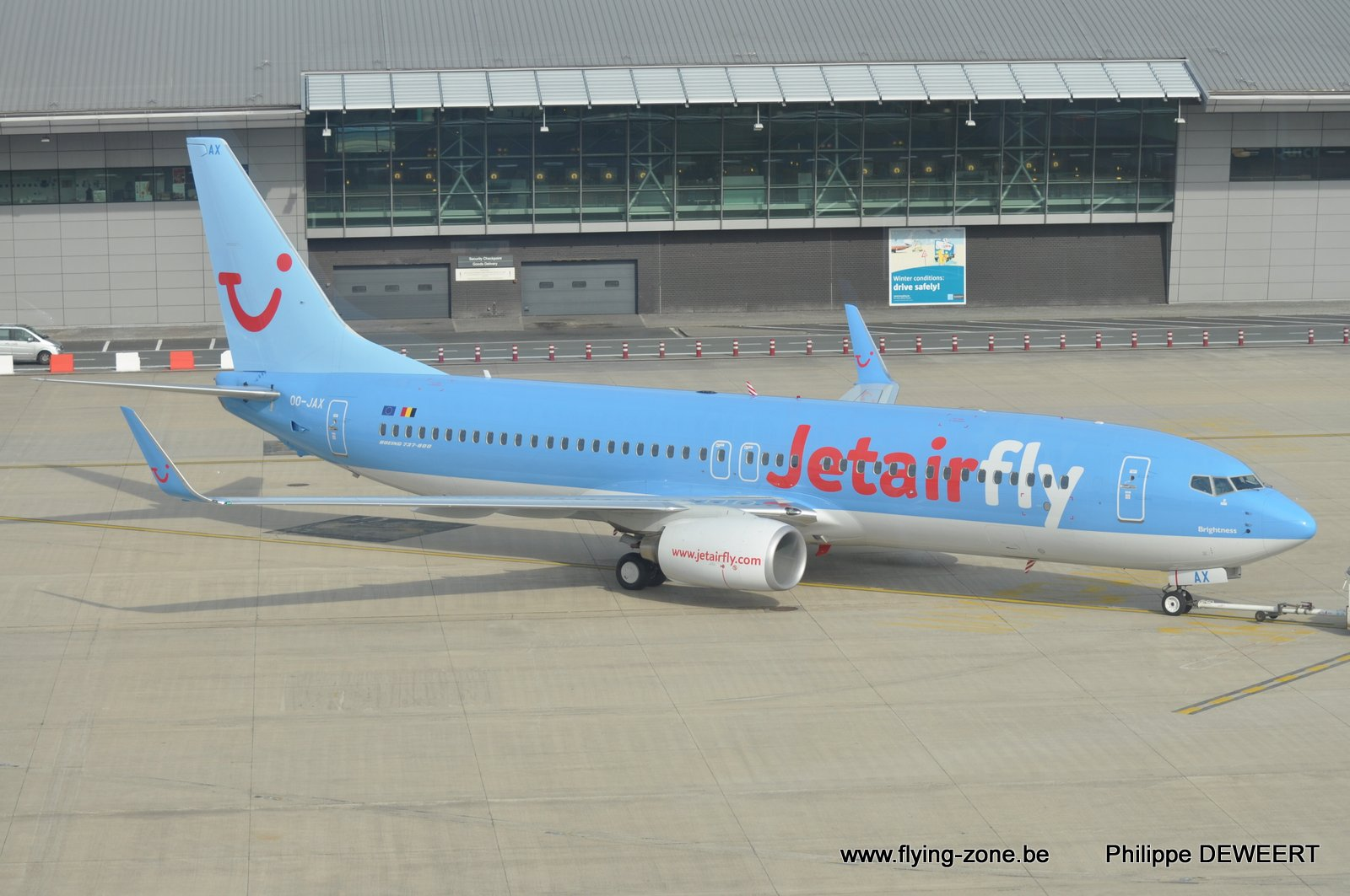 The flying zone jetair fly for Avion jetairfly interieur